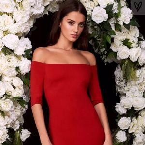 Lulu Red Dress Small